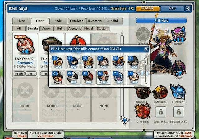 Akun Lost Saga Gratis